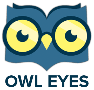 read annotate collaborate owl eyes rh owleyes org owl reading logo Black and White Owl Reading
