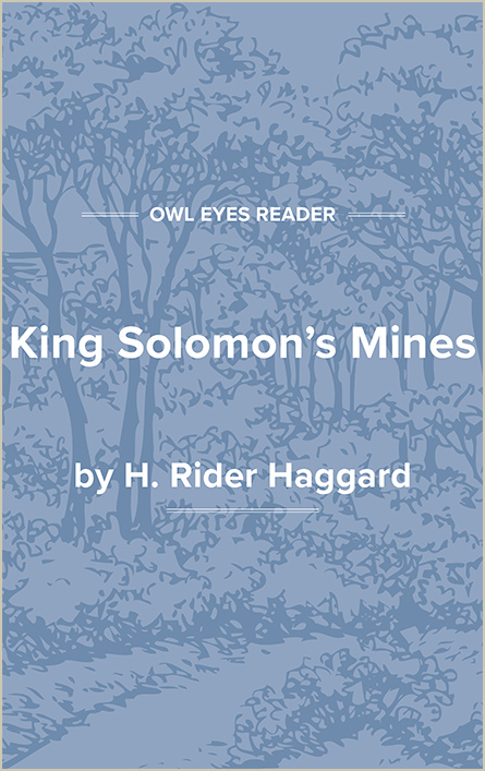 King Solomon's Mines Cover Image