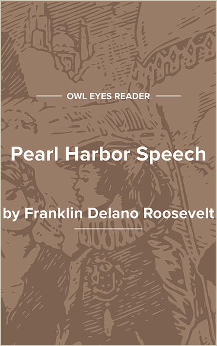 Pearl Harbor Speech Cover Image