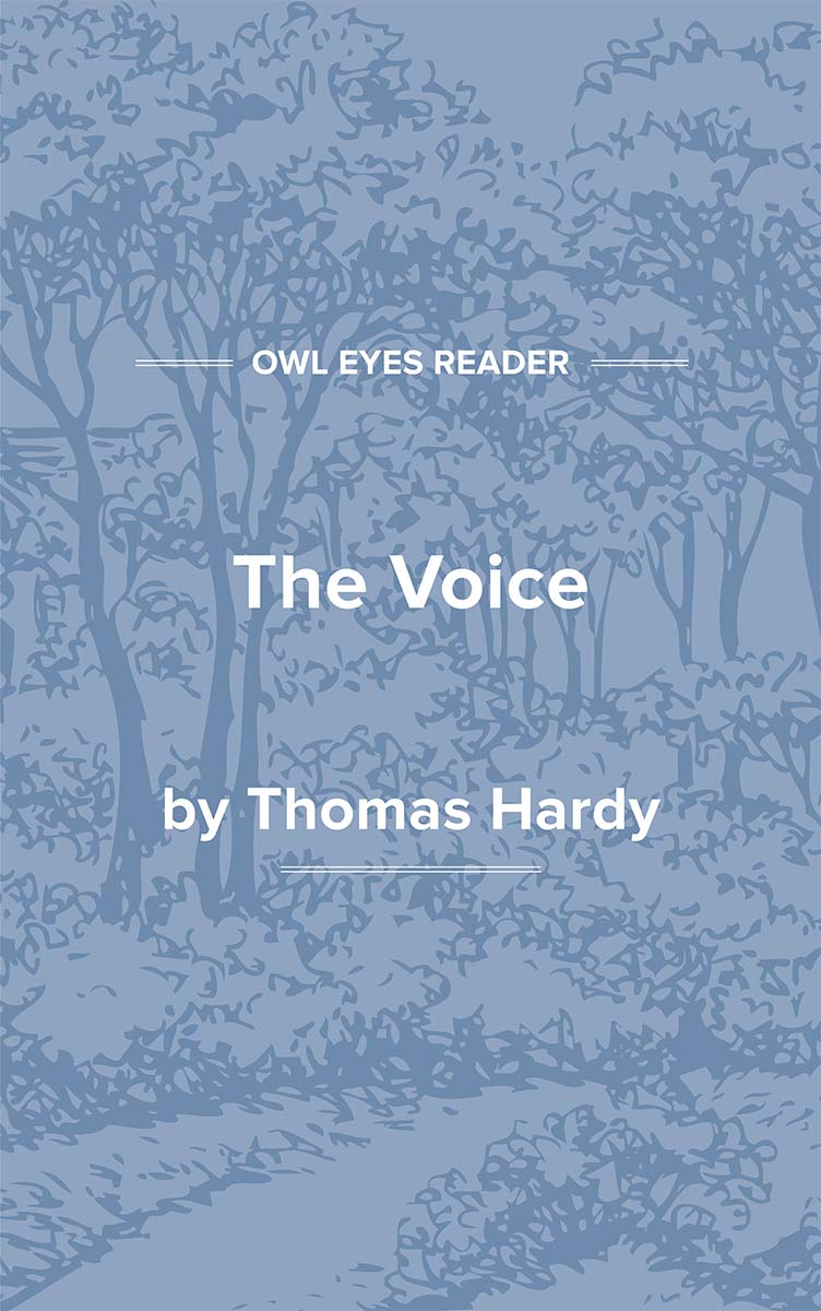 The Voice Cover Image