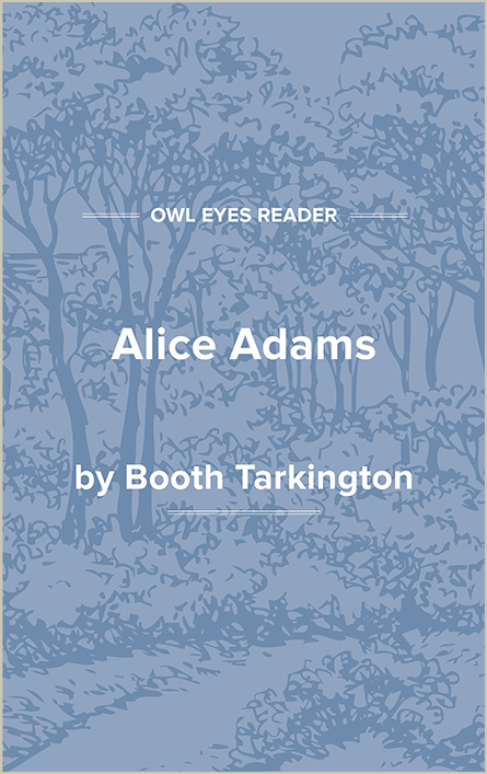 Alice Adams Cover Image
