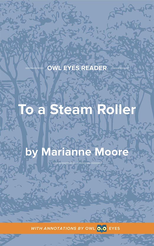 To a Steam Roller  Cover Image
