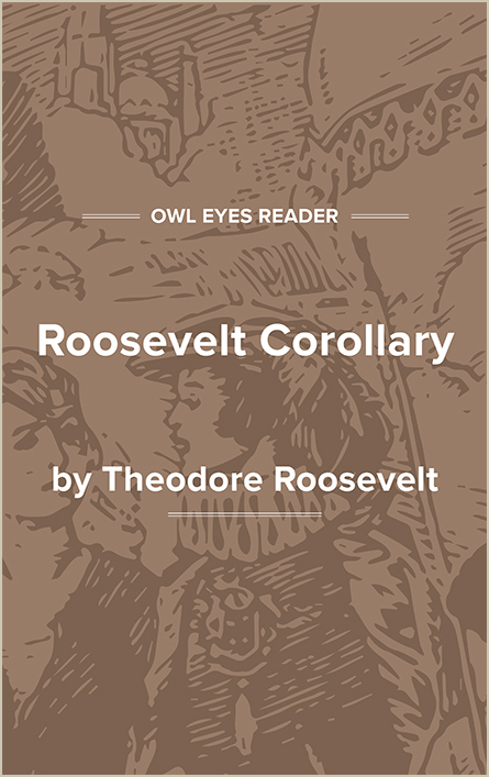 Roosevelt Corollary Cover Image