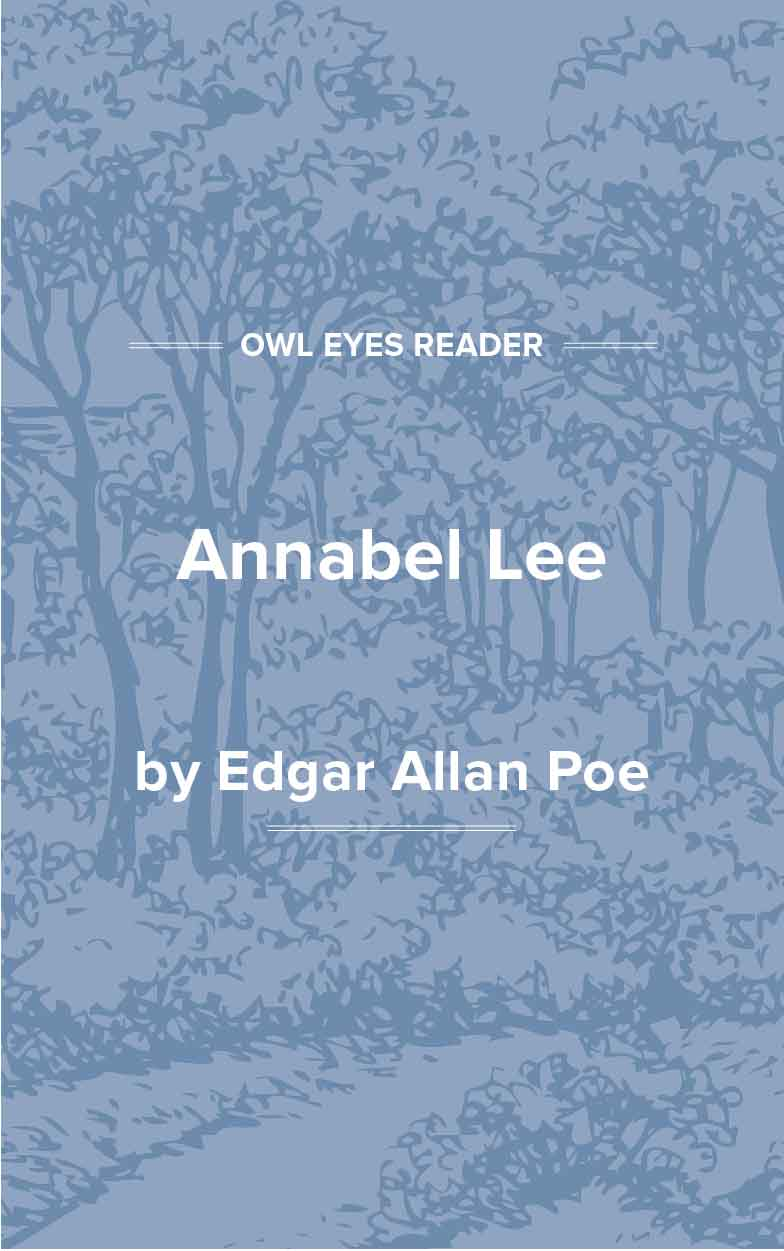 Annabel Lee Cover Image