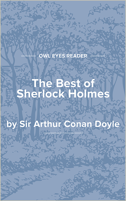 The Best of Sherlock Holmes Cover Image