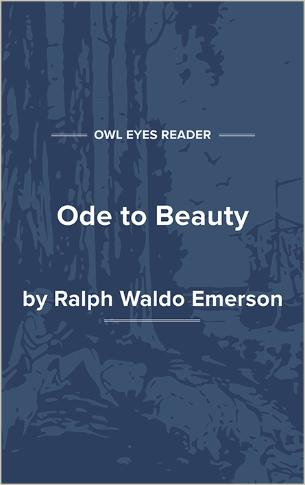 Ode to Beauty Cover Image