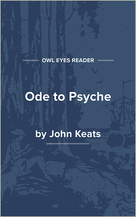 Ode to Psyche Cover Image