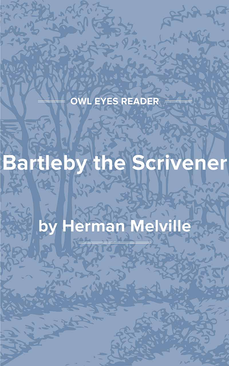 Bartleby the Scrivener, A Tale of Wall Street Cover Image