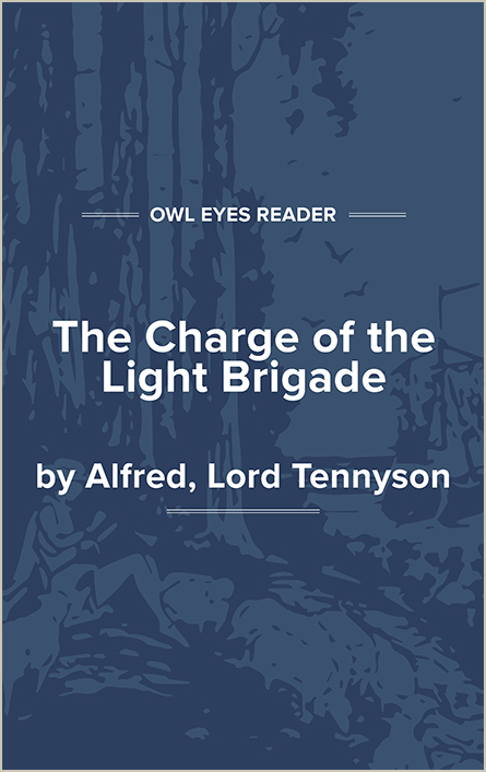 The Charge of the Light Brigade Cover Image