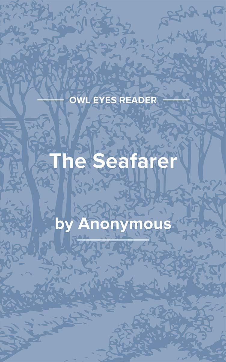 The Seafarer Cover Image