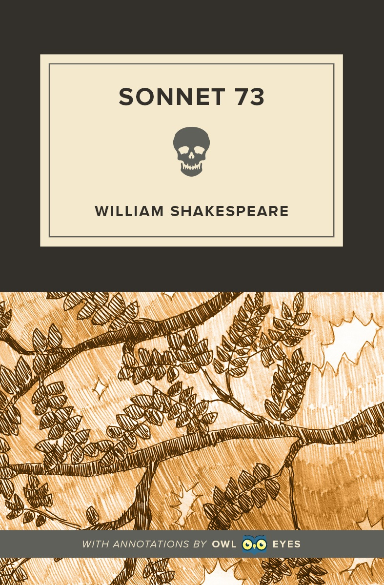 Sonnet 73 Cover Image