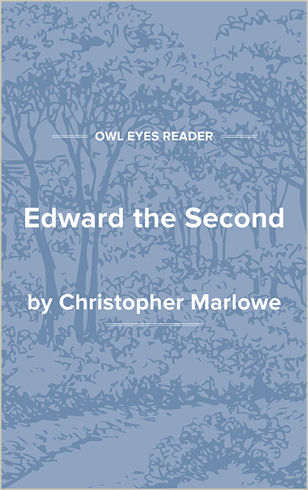 Edward the Second Cover Image