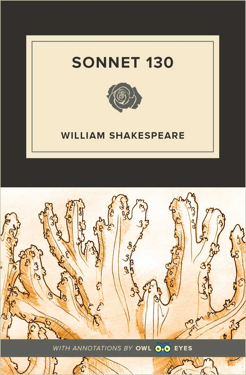 Sonnet 130 Cover Image