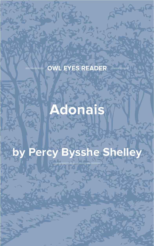 Adonais Cover Image