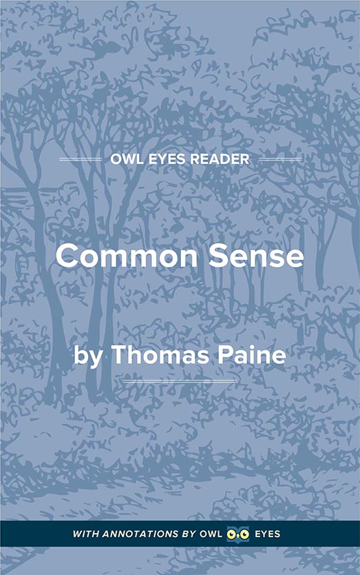 Common Sense Cover Image