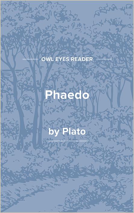 Phaedo Cover Image