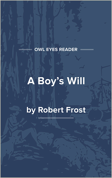 A Boy's Will Cover Image