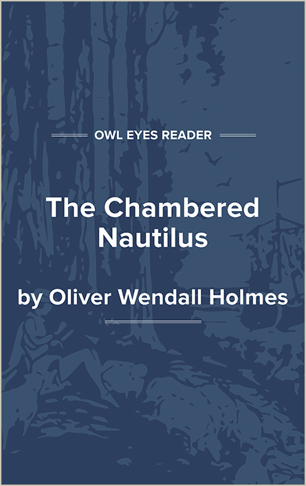The Chambered Nautilus Cover Image