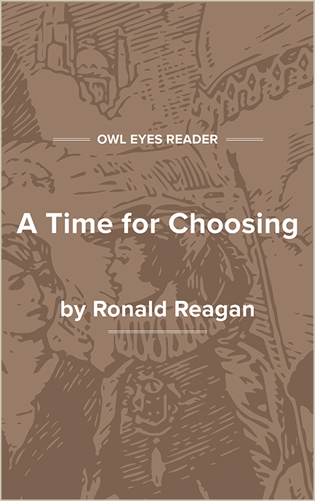 A Time For Choosing Cover Image