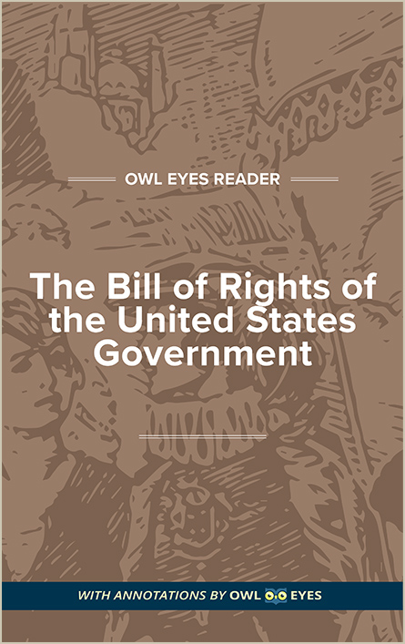 The Bill of Rights Cover Image