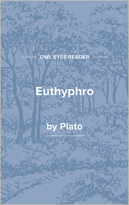 Euthyphro Cover Image