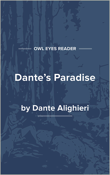 Dante's Paradise Cover Image