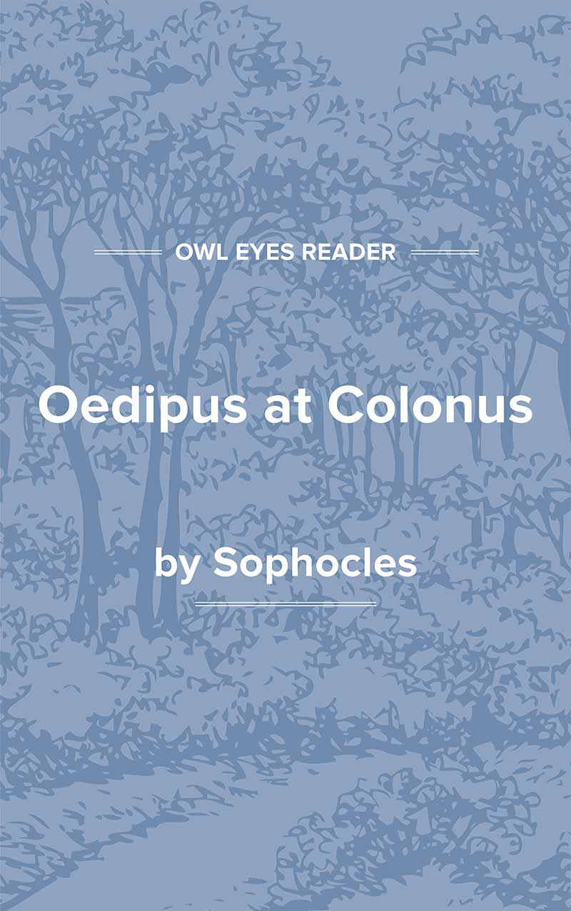 Oedipus at Colonus Cover Image