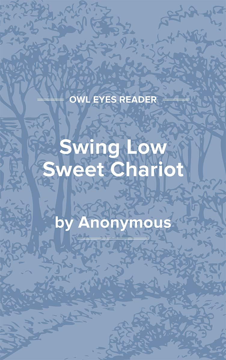 Swing Low Sweet Chariot Cover Image