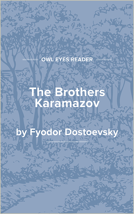 The Brothers Karamazov Cover Image