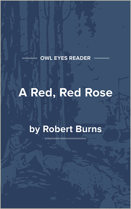 A Red, Red Rose Cover Image