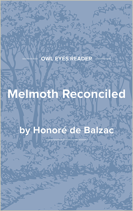 Melmoth Reconciled Cover Image