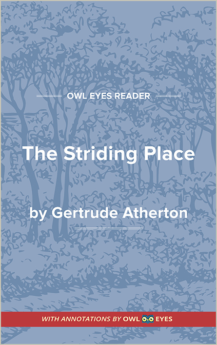 The Striding Place Cover Image