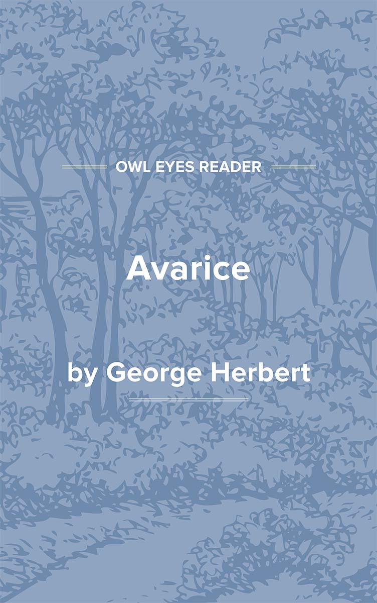 Avarice Cover Image