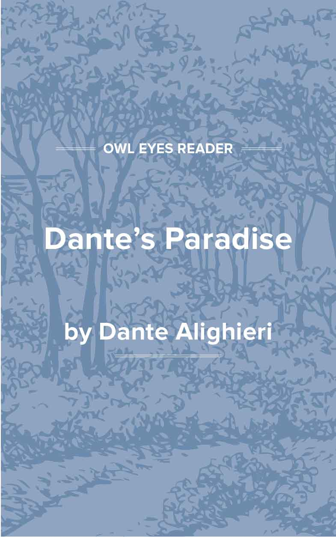 Dante's Paradise Cover Image