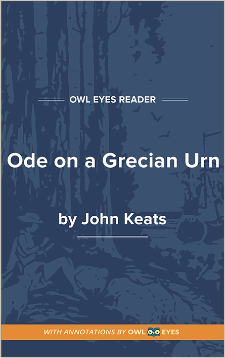 Ode on a Grecian Urn Cover Image
