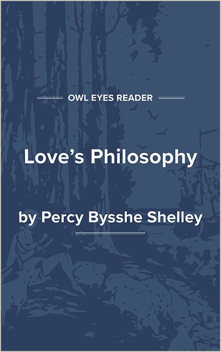 Love's Philosophy Cover Image