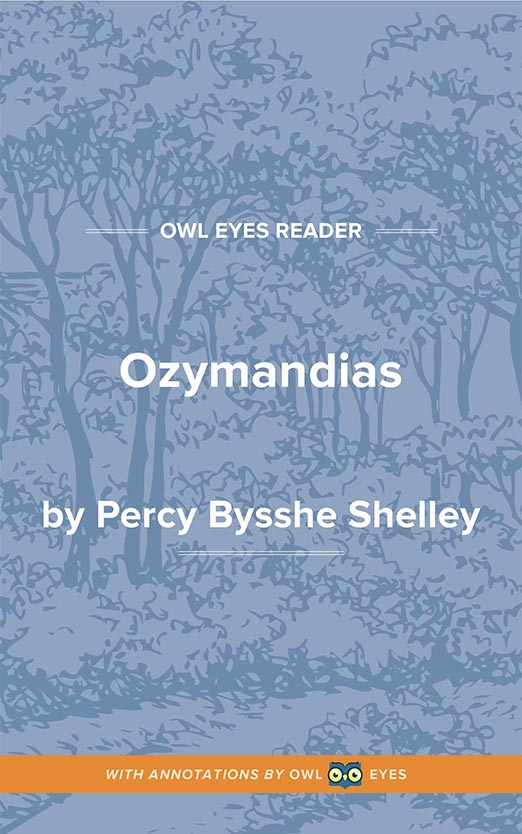 Ozymandias Cover Image