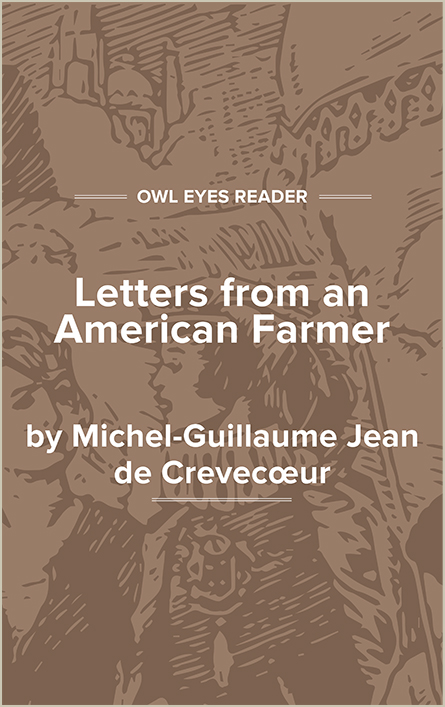Letters from an American Farmer Cover Image