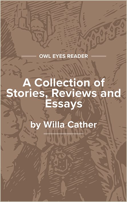 A Collection of Stories, Reviews and Essays Cover Image