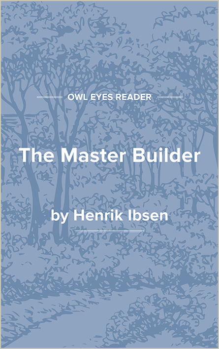 The Master Builder Cover Image