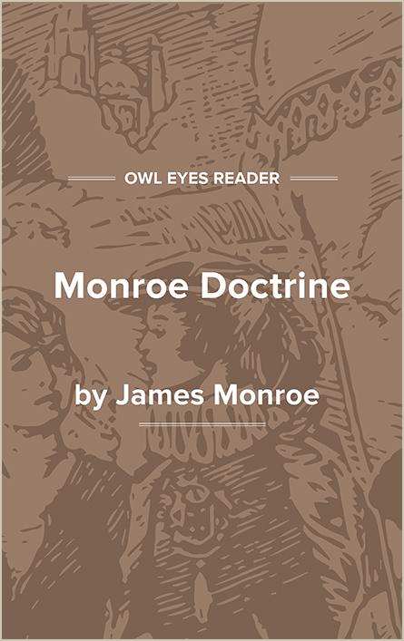 Monroe Doctrine Cover Image