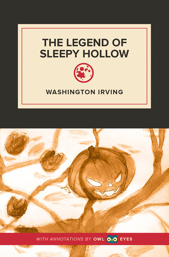 Allusion In The Legend Of Sleepy Hollow Owl Eyes