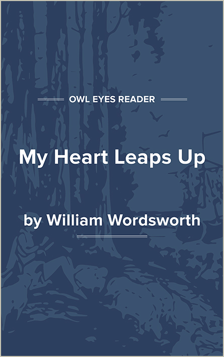 My Heart Leaps Up Cover Image