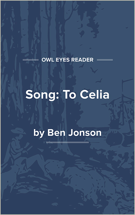 Song: To Celia Cover Image