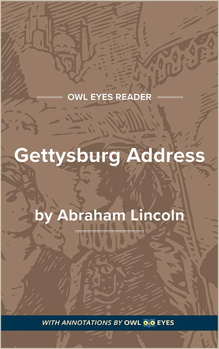 antithesis gettysburg address Modern parallels of the pericles' funeral oration american civil war scholars louis warren and garry wills have addressed the parallels of pericles' funeral oration to abraham lincoln 's famous gettysburg address.