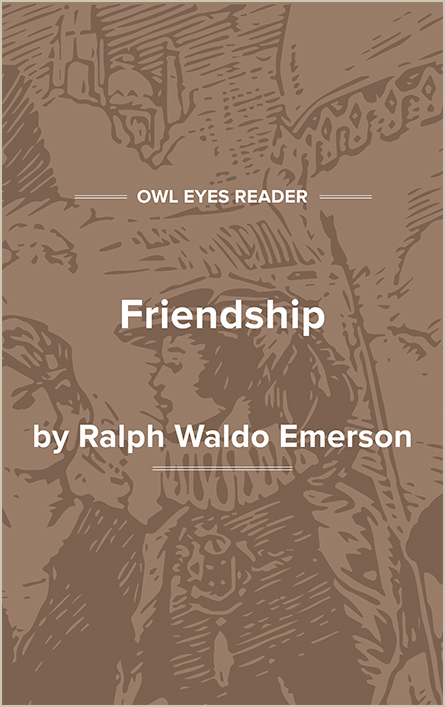 Friendship Cover Image