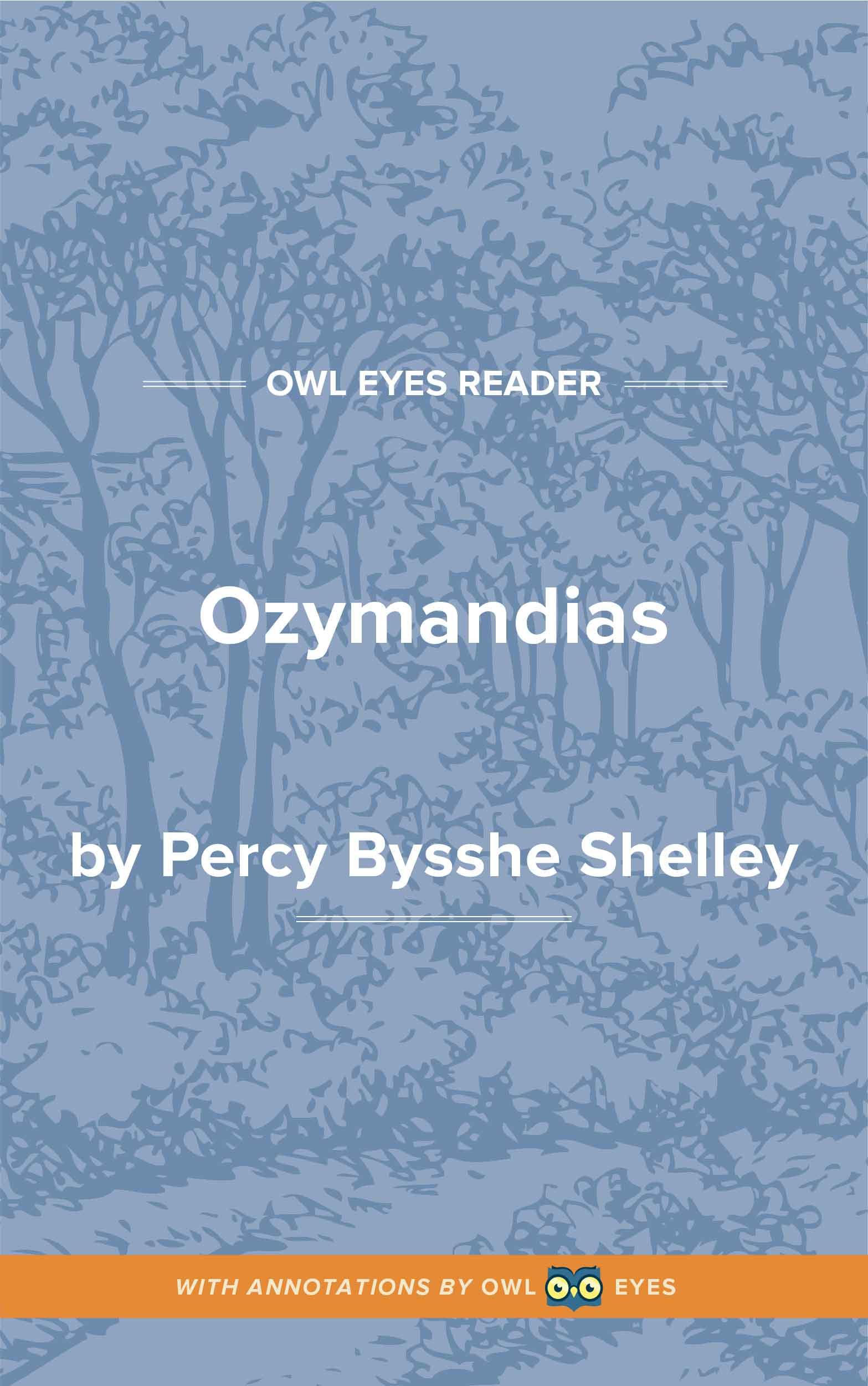 Ozymandias Cover Image