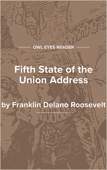 Fifth State of the Union Address Cover Image