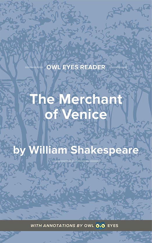 The Merchant of Venice Cover Image