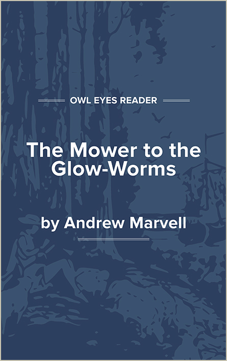 The Mower to the Glow-Worms Cover Image